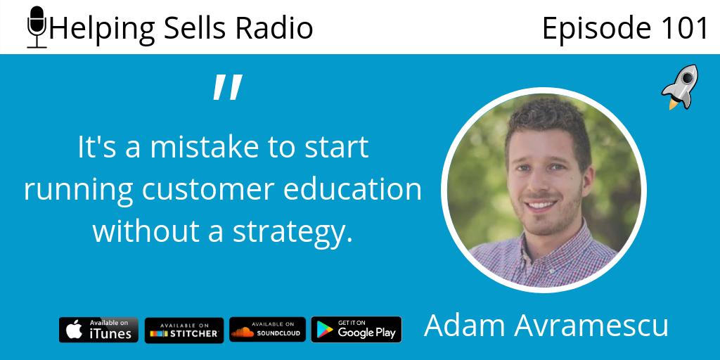 Adam Avramescu of Slack on Help Sells Radio by ServiceRocket Media