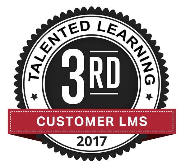Learndot by ServiceRocket Best Customer LMS 2017 Talented Learning