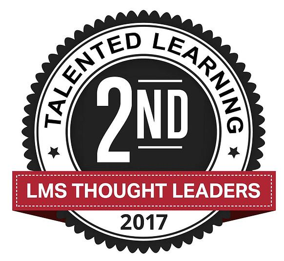 Learndot by ServiceRocket LMS Thought Leader 2017 Talented Learning