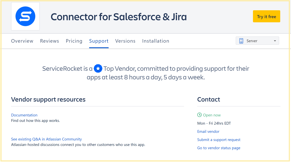 ServiceRocket Atlassian Marketplace