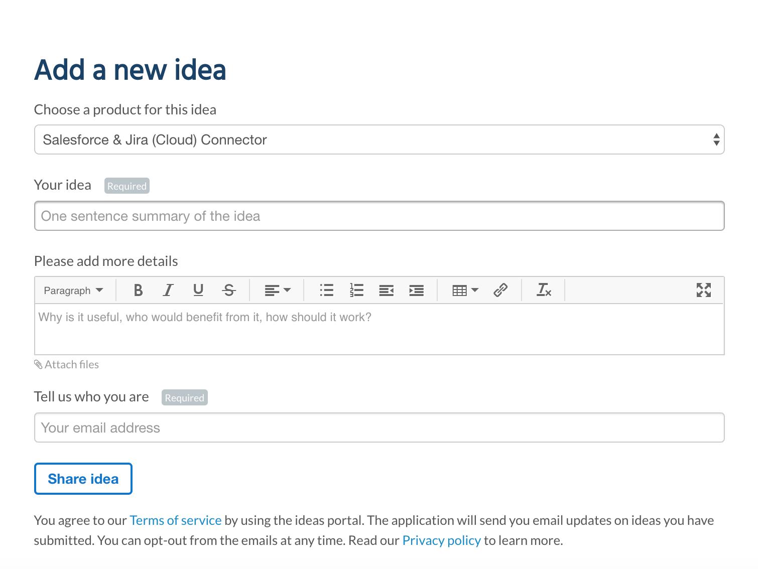 Ideas portal blog 2