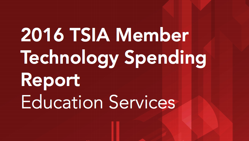 TSIA Spending Report 2016 Education Services - ServiceRocket Software Training Blog
