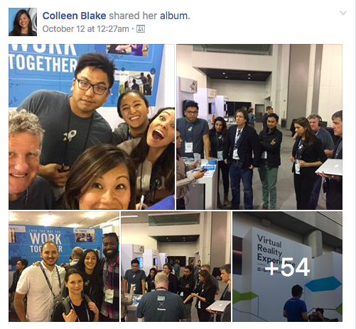 ServiceRocket at Atlassian Summit with Customers posted on Workplace by Facebook