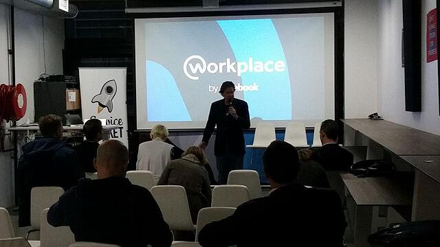 ServiceRocket event about Workplace by Facebook adoption